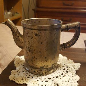 Antique 1920's Grand Silver Co. Silver Creamer